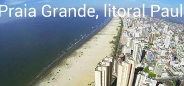 Vista aérea de Praia Grande