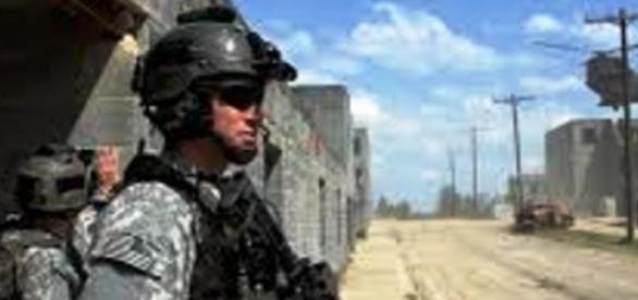 żołnierz US Army - walka z terroryzmem