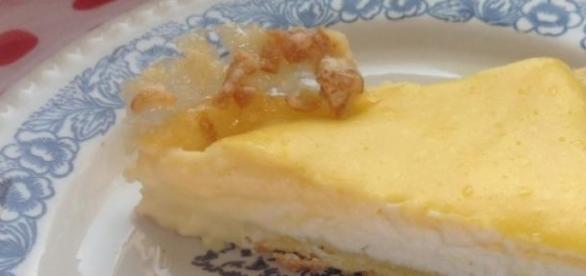 La crostata con crema pasticcera