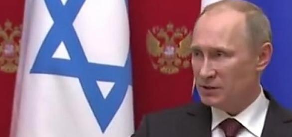 Puitn przyjął Netanyahu na Kremlu