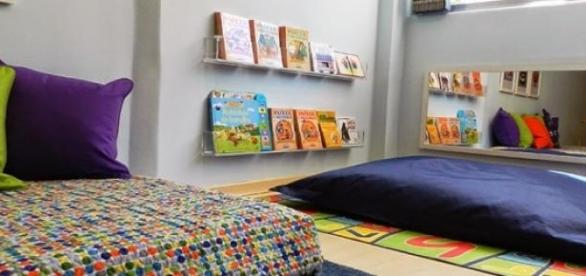 Quarto infantil segundo o método Montessori