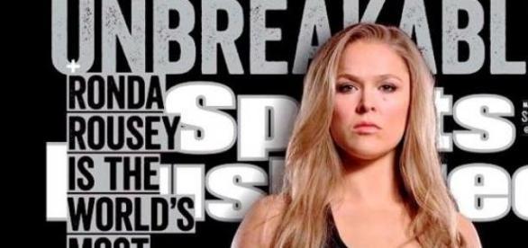 Ronda au sommet, sur le Sports Illustrated