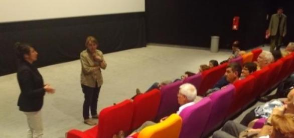 Soirée italienne Cinéma Véo 7 mai 2015 au Soir