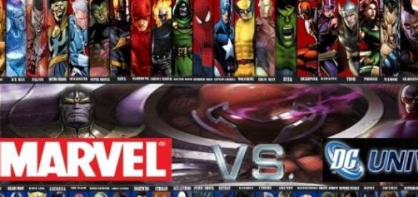 Superhéroes de Marvel y DC