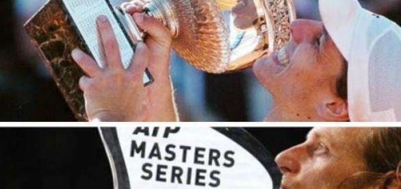 Gaudio en Roland Garros y Nalbandian en el Master.