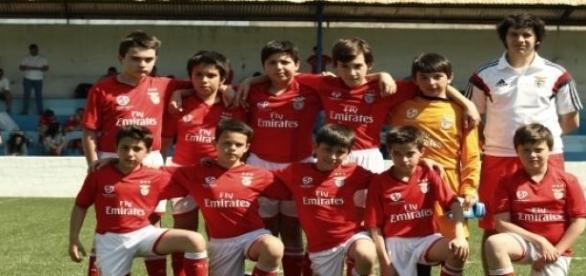 Infantis B da Geração Benfica Aveiro.