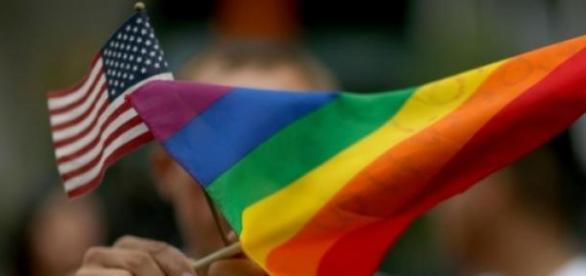 Mulher americana contra os gays