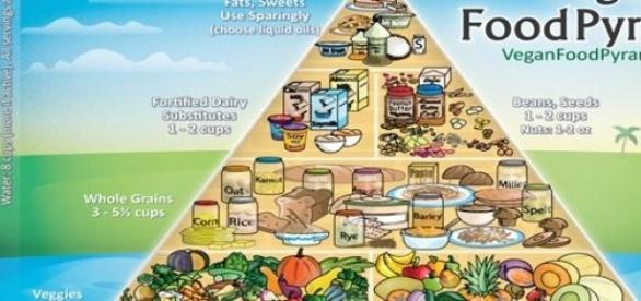 piramida sfanta a regimului vegan