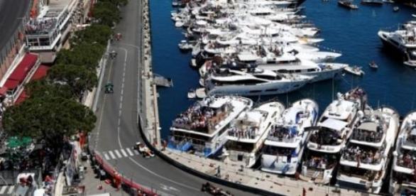 Przepiękne widoki na torze w Monako