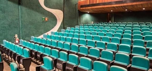 Visão ampla do teatro do CCBB-RJ