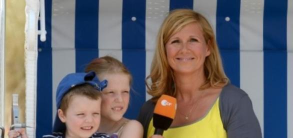 Andrea Kiewel prägt seit 2000 den Fernsehgarten