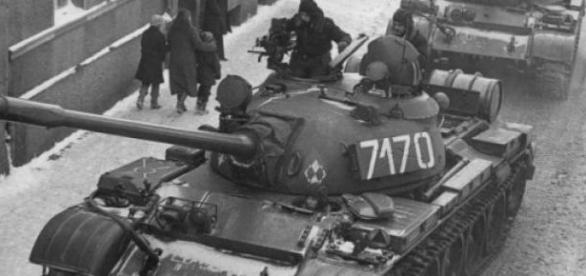 Grudzień 1981 r - Stan Wojenny