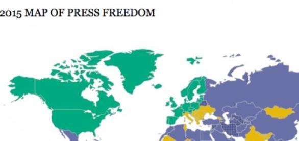 Mappa della Libertà di Stampa