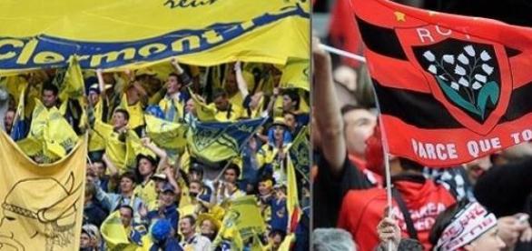 Supporters de Clermont et de Toulon sont prêts