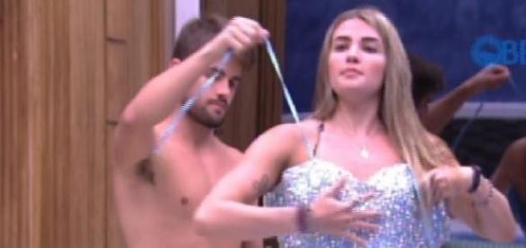 Aline e Fernando vão morar juntos