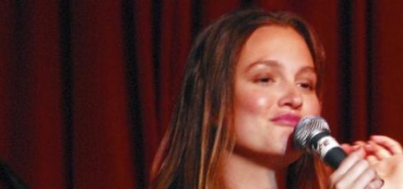 Leighton Meester bei einem Musikauftritt