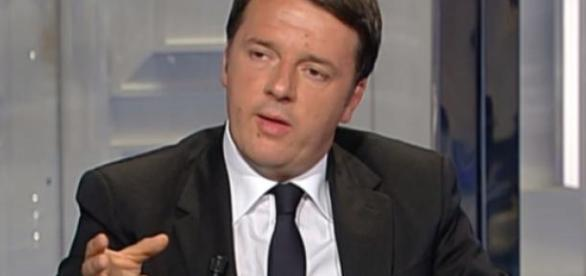 Matteo Renzi, ospite a Porta a Porta