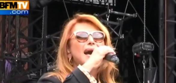 Une chanteuse fort appréciée par le public.