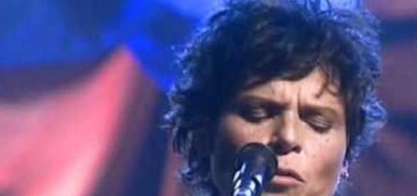 A saudosa cantora Cássia Eller