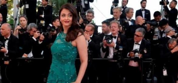 Aishwarya Rai at the Cannes Red Carpet