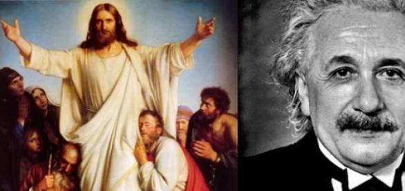 Iisus Hristos si Einstein