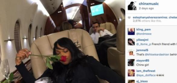 Il avait publié une photo de Malika sur instagram