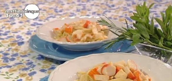 Le ricette di Samya, spaghetti al profumo di mare