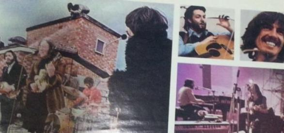 Los Beatles en la azotea