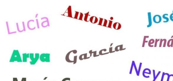 Nombres y apellidos más comunes