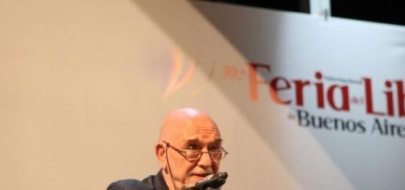Vicente Battista en la Feria del Libro