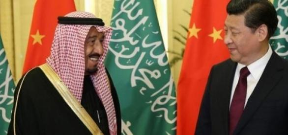 Xi Jinping e Hamad Bin Isa Al Khalifa