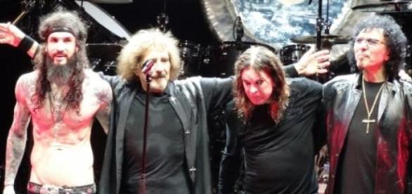 Black Sabbath en 2013, sin Bill Ward