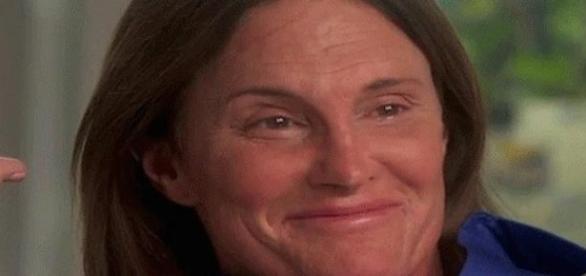 """Bruce Jenner lors de son """"interview révélation""""."""