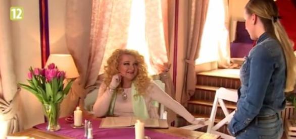 Magda Gessler w restauracji Duchówka
