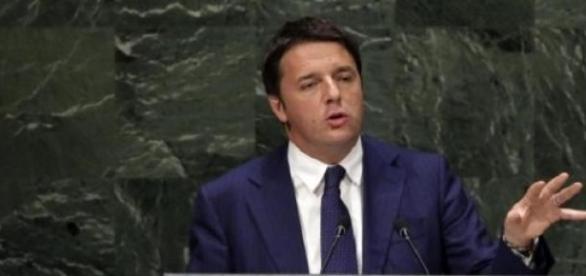 Il premier Matteo Renzi al Palazzo di Vetro Onu