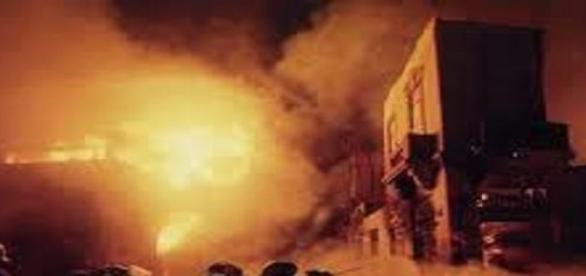Incendian varios edificios en Monte Hermoso