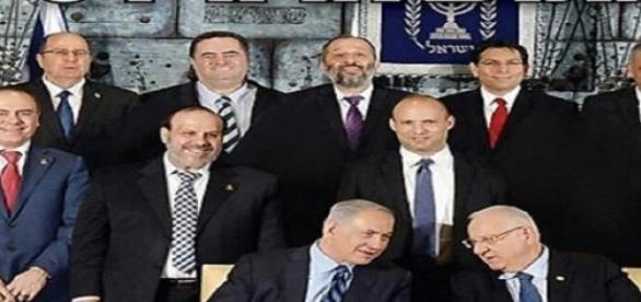 """Nella foto """"manca"""" il ministro Gila Gamliel"""