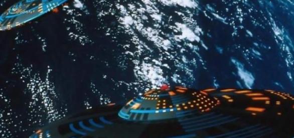 Projeto de disco voador é desenvolvido.
