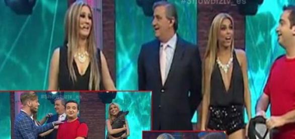 Tony y Oriana se pelean en vivo en televisión