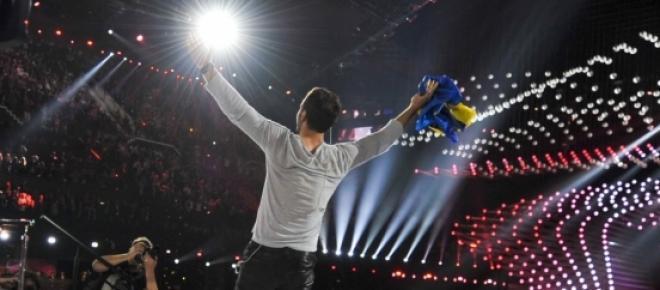 Måns Zelmerlöw, vencedor da 60ª Edição do Festival Eurovisão da canção.