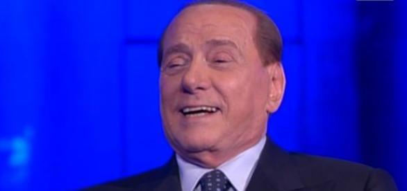 Berlusconi ieri sera a 'Che tempo che fa'