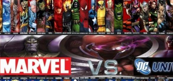 Continua la guerra de Marvel y DC