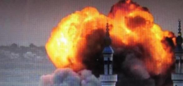EUA comandam ataques aéreos na Síria