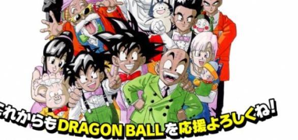 Imagen del 30 aniversario de Dragon Ball