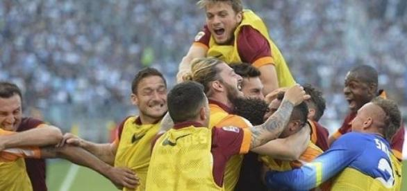 L'AS Roma remporte le derby de la capitale