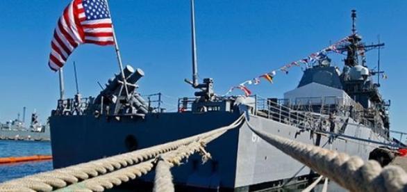 Nave ale SUA in Marea Neagra