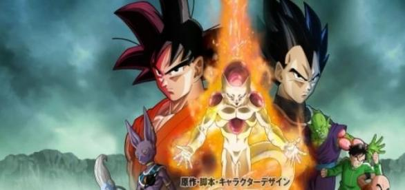 Poster do filme Dragon Ball Z: Fuukatsu no F.