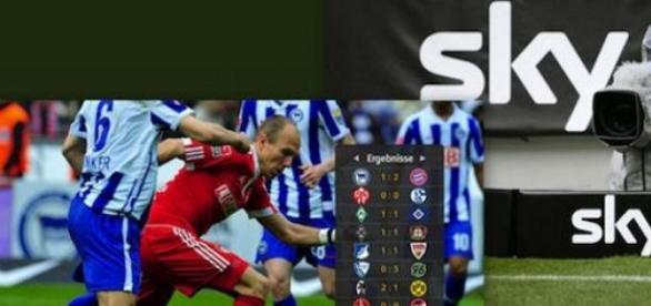 Sky Bundesliga bleibt Zuschauermagnet, Fotos: Sky