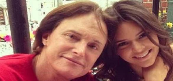 Bruce Jenner mit seiner Tochter