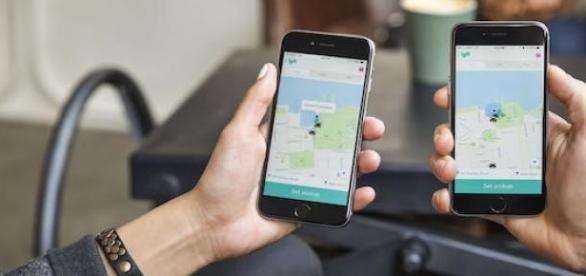 Lyft doesn't operate internationally, unlike Uber